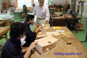 1年生 木材加工基礎