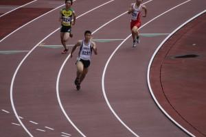 2年坂本君の走り(200m)