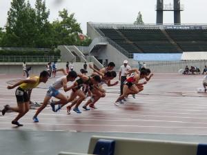 2年岩本君の走り(100m)
