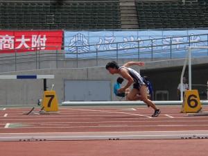 3年二川君の走り(200m)