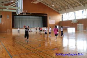 合宿(7/20バスケットボール)