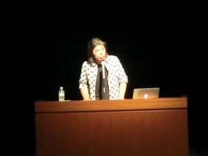 日比野克彦先生による講演会と講評会