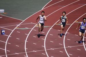 2年坂本くんの力走(200m)