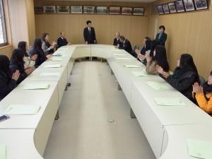 吉備中央町長への表敬訪問