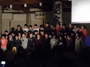 3年男子合唱(卒業生)