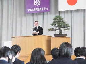 卒業生総代答辞