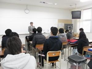 進学合宿の「開講式」の様子