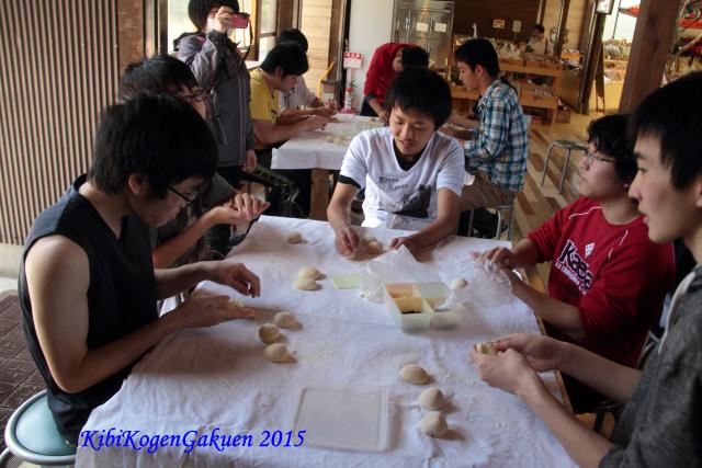 体験学習(パン作り)