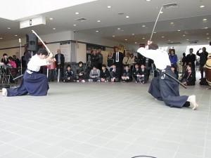 模擬刀による「剣術」