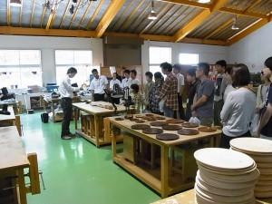 クラフトデザインコース実習室(漆芸)