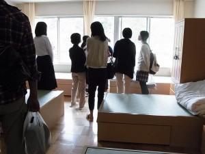 女子寮の見学