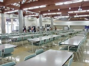 寮の大食堂