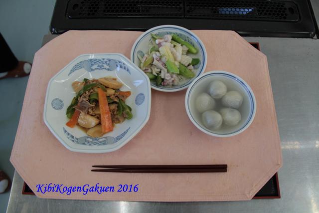 KiBiの料理(生活デザインコース)