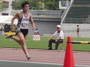 白井君の走り(100m)