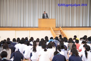 7/15夏休み前集会