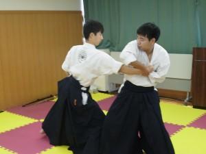 演舞(岡山県に古くから伝わる竹之内流の組手)