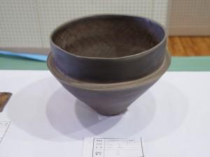 岡山県知事賞 :題「無」、作:3年村松さん(写真前列中央)