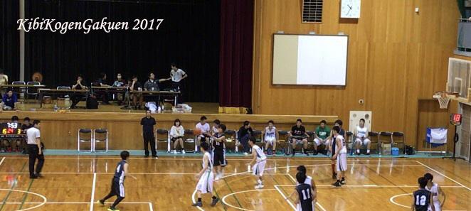 バスケットボール部男子試合