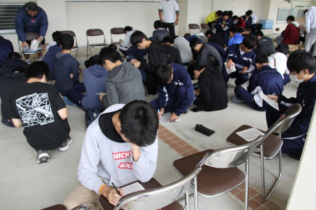 吉備高原学園高校クイズにチャレンジ。