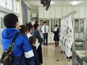 キャリアデザインコース(理科実験室にて)