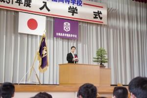 来賓祝辞(山本吉備中央町長より。