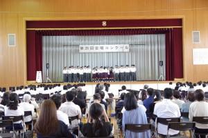 優勝した、1年B組とD組合同チーム、曲「キセキ」。