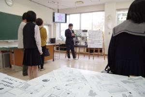 新設計画中「マンガ・アニメーションコース」の紹介。