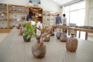 陶芸デザインコース展示販売。