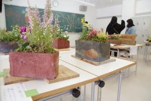 緑化システムコース展示販売。