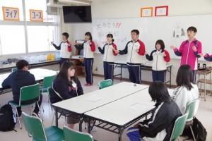 福祉ボランティアコース(手話歌の練習)