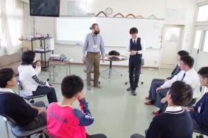 インターナショナルコース(英会話で授業)