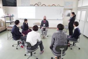 インターナショナルコース(英会話の授業)