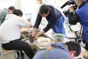 陶芸デザインコース(ロクロ成型実習)