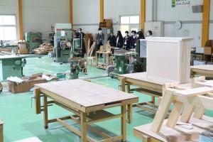 クラフトデザインコース(木材加工実習室)