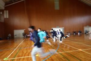 健康スポーツコース(体育館で競技)