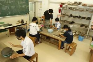 陶芸デザインコース。