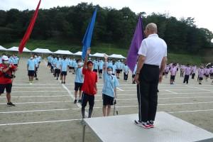 3年生代表選手宣誓。