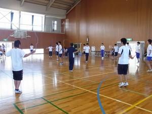 健康スポーツコース(様々な種目で「体を動かそう」)