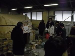 陶芸デザインコース実習室(登窯)
