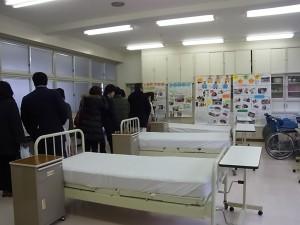 コース実習室の見学(福祉ボランティアコース)