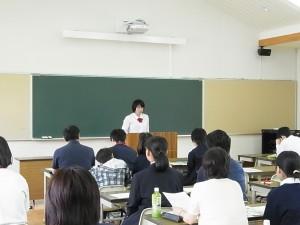 生徒から吉備高原学園高校での生活の様子を(生徒会長より)