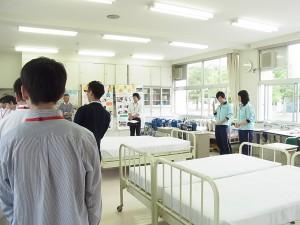 コース見学(福祉ボランティアコース実習室)