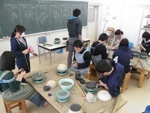 陶芸デザインコース(皿づくり)