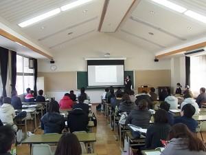 同日午後開催の入試相談会へも大勢のご参加いただきました。