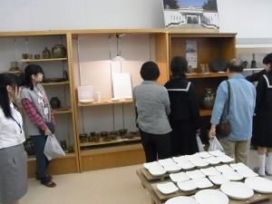 陶芸デザインコース(生徒作品の数々)