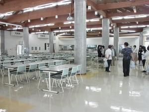 大食堂の見学