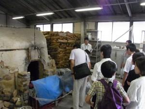 陶芸デザインコース実習施設(備前焼登窯)