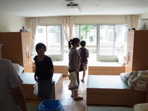 寮室(6人部屋)