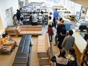 図書館の見学
