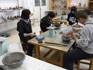 陶芸デザインコース(タタラ成型で皿づくり)